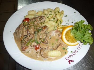 Filetto di Vitello con Porcini
